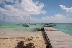 Escena del mar del Caribe Fotos de archivo
