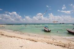 Escena del mar del Caribe Imagenes de archivo