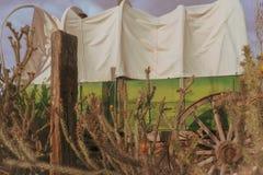 Escena del oeste salvaje del vaquero del desierto Imagen de archivo