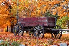 Escena del otoño imagenes de archivo