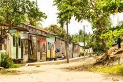 escena del país del tercer mundo Fotos de archivo