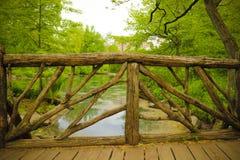 Escena del paisaje del Central Park Fotos de archivo