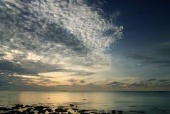 Escena del paisaje marino Imagen de archivo libre de regalías