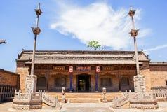 Escena del parque del señorío de Chang. El pasillo ancestral de Chang. Imágenes de archivo libres de regalías
