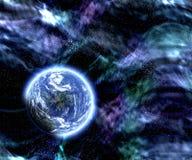 Escena del planeta del espacio Imagen de archivo libre de regalías
