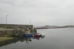 Escena del puerto Fotografía de archivo