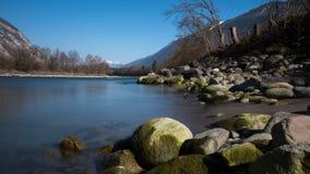 Escena del río Foto de archivo libre de regalías