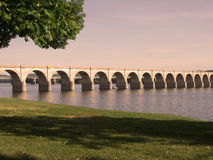 Escena del río de Susquehanna Fotos de archivo libres de regalías