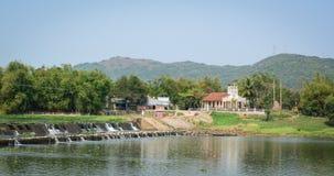 Escena del río en Phu Yen, Vietnam Foto de archivo