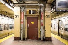 Escena del subterráneo de NYC Imágenes de archivo libres de regalías