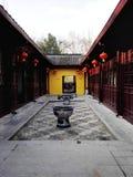 Escena del templo uno Fotografía de archivo libre de regalías