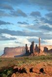 Escena del valle del monumento Imagenes de archivo