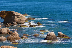 Escena del verano en el mar Imágenes de archivo libres de regalías