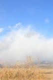 Escena del yermo del desierto con el espacio de la copia Imagen de archivo