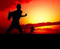 Escena del zombi Imagen de archivo libre de regalías