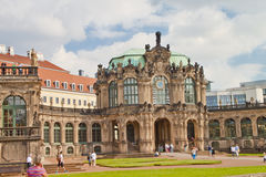 Escena en Dresden, Alemania Fotografía de archivo libre de regalías