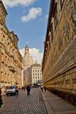 Escena en Dresden, Alemania Imagen de archivo