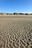 Escena en el noroeste, Inglaterra, costa de la playa Imagenes de archivo