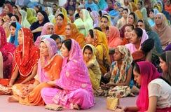 Escena en una boda sikh imagen de archivo