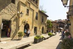 Escena española de la calle Imagen de archivo libre de regalías
