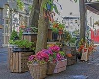Escena Galway de la calle Imágenes de archivo libres de regalías