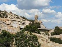 Escena grande de la montaña Imágenes de archivo libres de regalías