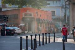 Escena Havana Cuba de la calle imagen de archivo