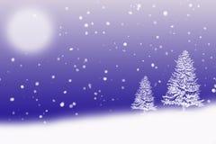 Escena helada del invierno libre illustration