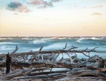 Escena hermosa de la costa fotografía de archivo libre de regalías