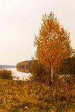 Escena idillic del otoño Fotos de archivo libres de regalías