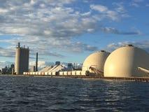 Escena industrial en Milwaukee Fotografía de archivo libre de regalías