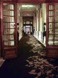 Escena interior de la noche de Carrasco del casino del hotel Foto de archivo libre de regalías