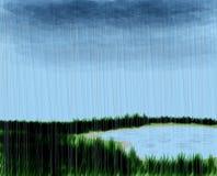 Escena lluviosa Fotografía de archivo