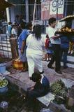 Escena México del mercado Fotos de archivo libres de regalías