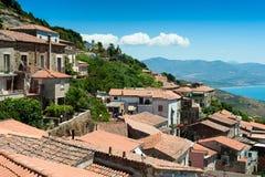 Escena meridional de Italia Imagenes de archivo