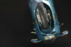 Escena modelo de la motocicleta Fotografía de archivo libre de regalías