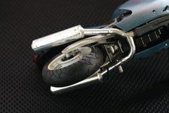 Escena modelo de la motocicleta Foto de archivo libre de regalías