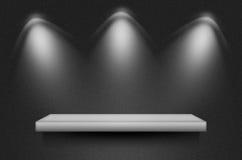 Escena o fondo negra de la textura Imagenes de archivo