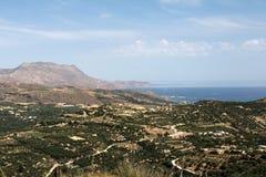 Escena occidental de Creta Fotografía de archivo