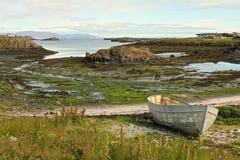 Escena reservada del fiordo Imagen de archivo