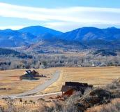 Escena rural fotografía de archivo