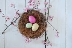 Escena temática de la vida del día de fiesta de Pascua aún en luz natural Imagen de archivo libre de regalías