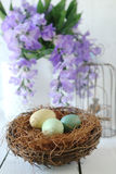 Escena temática de la vida del día de fiesta de Pascua aún en luz natural Imágenes de archivo libres de regalías