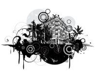Escena urbana libre illustration
