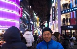 Escena urbana en Seul, Corea del Sur Fotografía de archivo libre de regalías