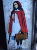 Escena urbana próspera del arte de la pintada y de la calle en Lisboa, Portugal, 2014 Imagen de archivo libre de regalías