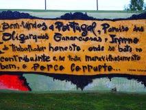 Escena urbana próspera del arte de la pintada y de la calle en Lisboa, Portugal, 2014 Imágenes de archivo libres de regalías