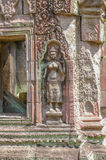 Escenas camboyanas 7 del templo Fotografía de archivo libre de regalías