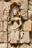 Escenas camboyanas del templo Fotos de archivo