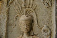 Escenas camboyanas 3 del templo Fotos de archivo